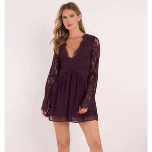 Tobi Lace Shift Dress